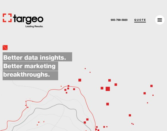 Big wins for the Targeo website in the Davey Awards