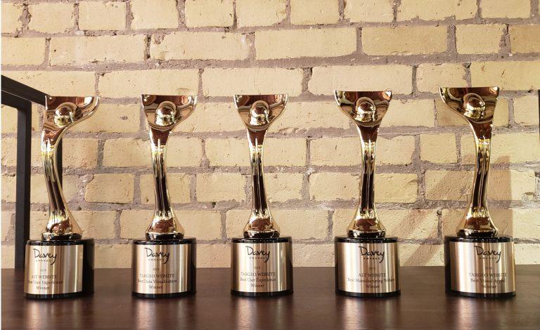 Davey Awards fresh take on manufacturing website